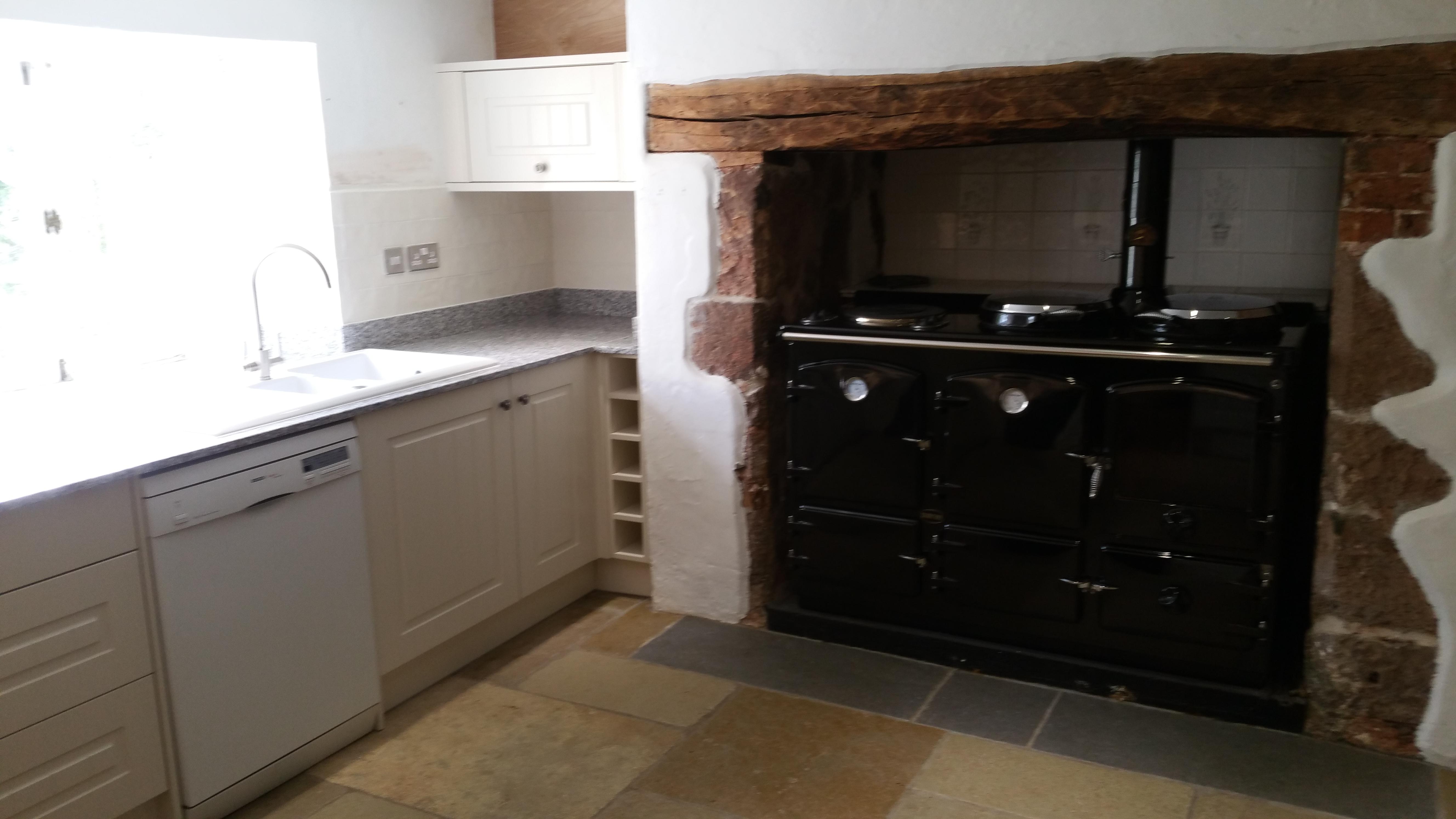 Traditional Kitchen Installation In Devon Baymoor