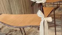 Treats for your seats | Wedding chair décor ideas
