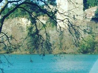 Promenade en famille à Avignon