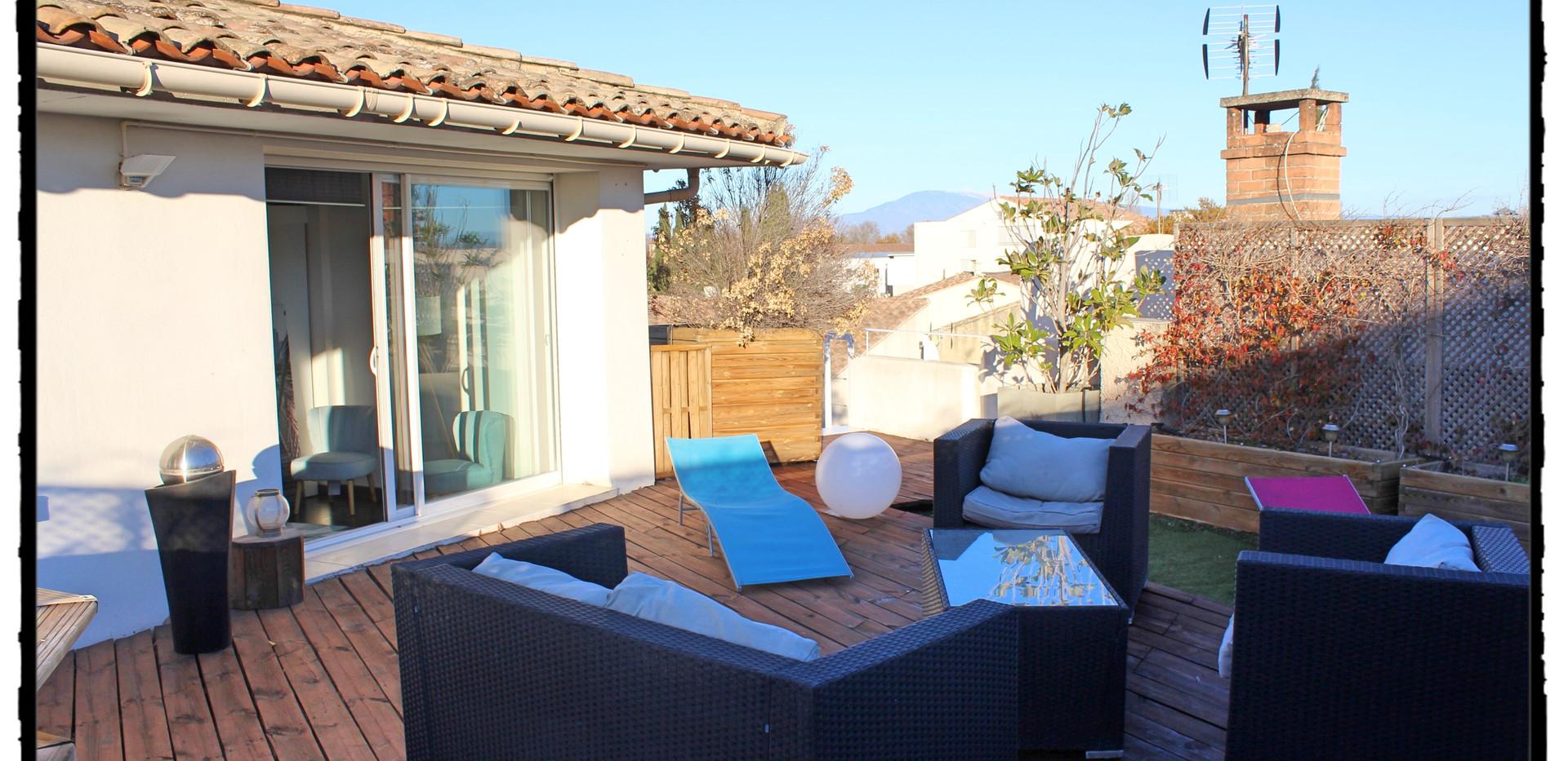 Une Soirée en terrasse à La Suite du Off, Vedène, Avignon