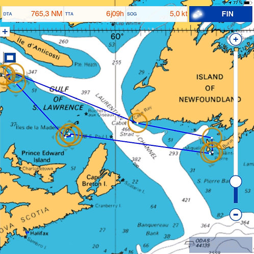 Gaspé - St Pierre & Miquelon