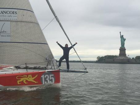 The Transat - Edouard 4eme à New-York !