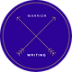 Hannah Zucker Logo Warrior Writing Purple
