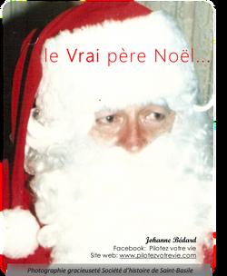le Vrai père Noël...