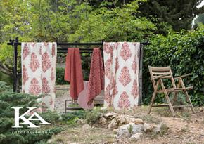 Rdeča kolekcija tkanin ARLES