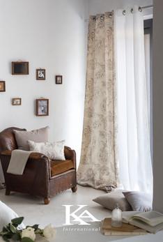 Zavese iz kolekcije Arles