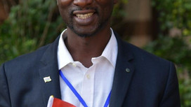 Lamin an Alumnus of YPLS Africa in the Gambia