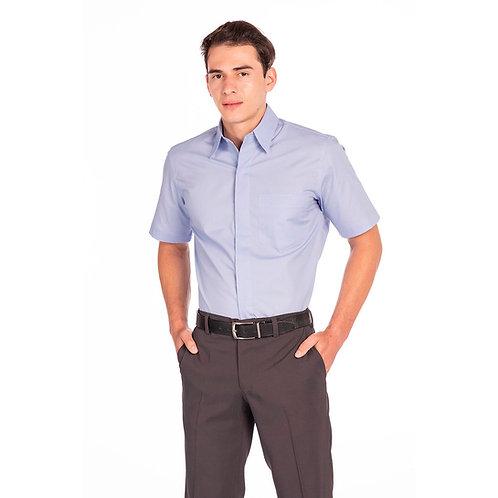 Camisa Masculina Abotoamento Embutido, Modelagem Fit