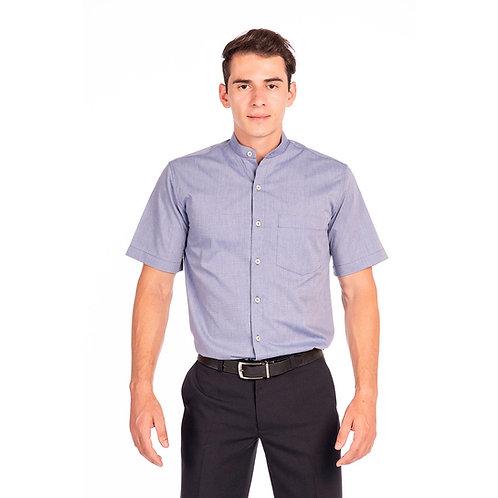 Camisa Fit Masculina Gola de Padre
