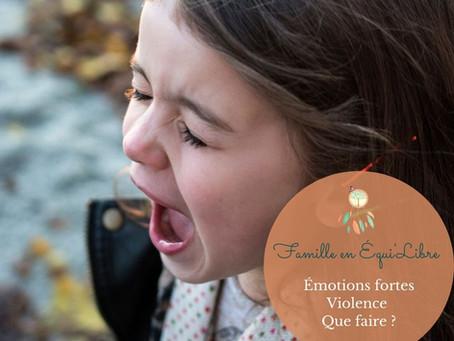 Mon enfant est violent, comment réagir ?