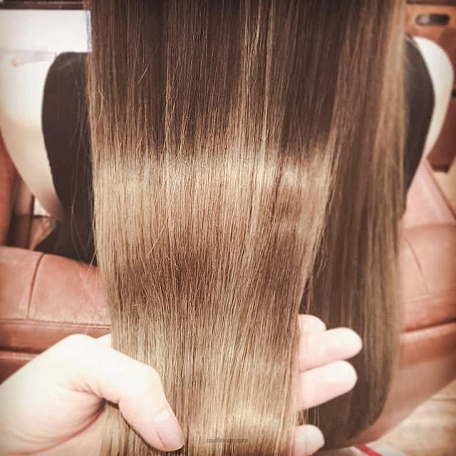 髪を生き返らせてきました🙆