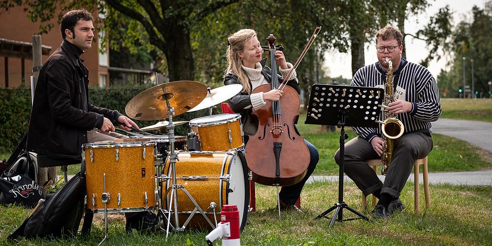 Jazztrio med Pelle, Emma och Dennis