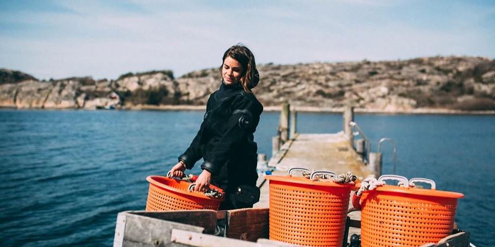 Ostronpremiär på Kosterhavets Ekobod