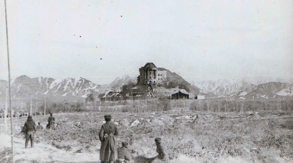 Дворец Амина, после штурма