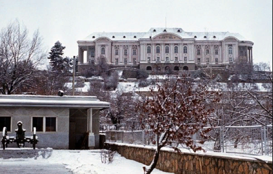 Зима 1979 года, дворец Амина - Тадж-Бек