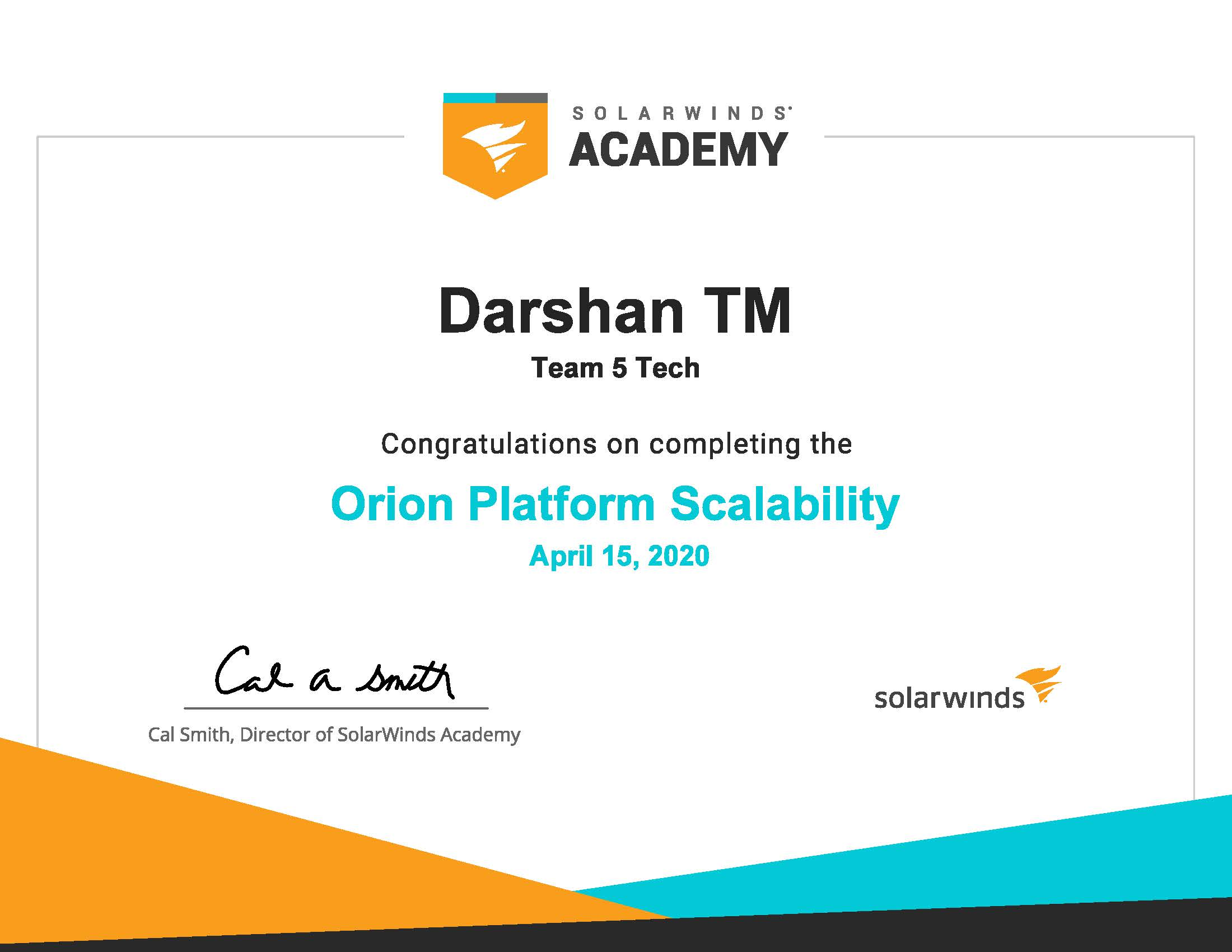 Solarwinds Darshan TM