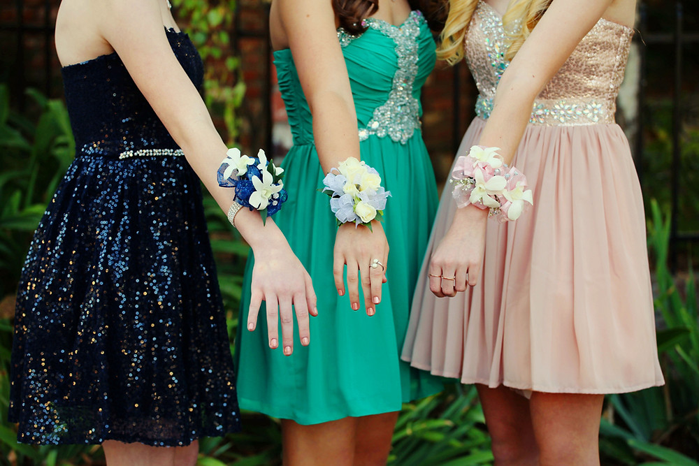 Prom Season Girls Flowers Dresses A DJ Connection Prom DJ 2019
