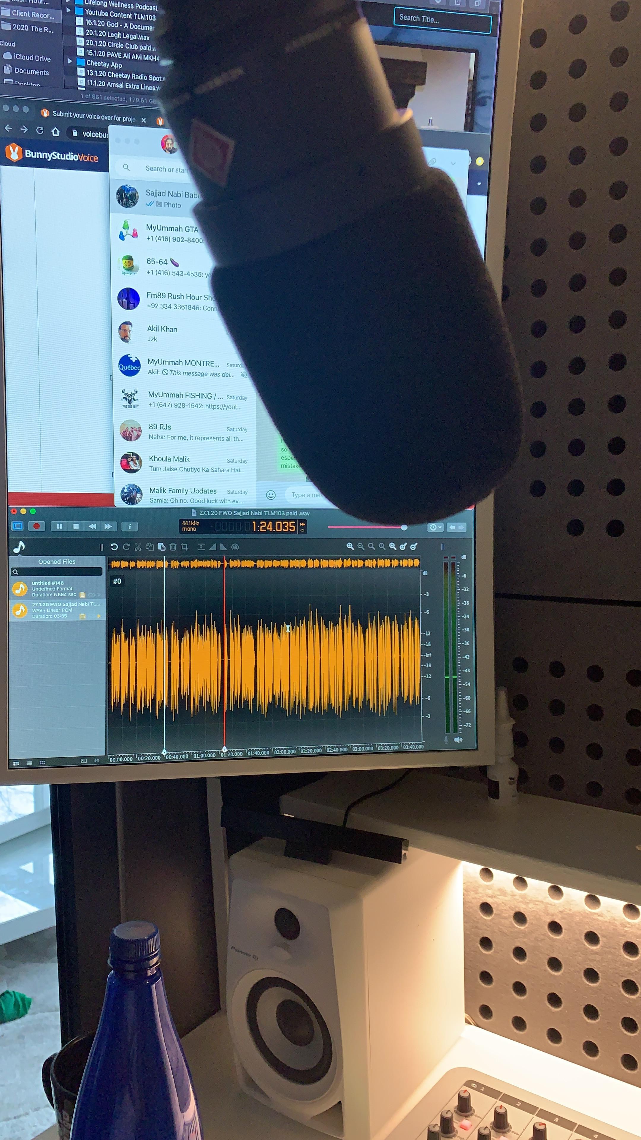 Voice Over Offline Recording