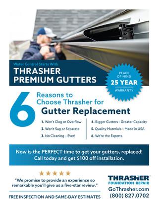 Thrasher Gutter Brochure
