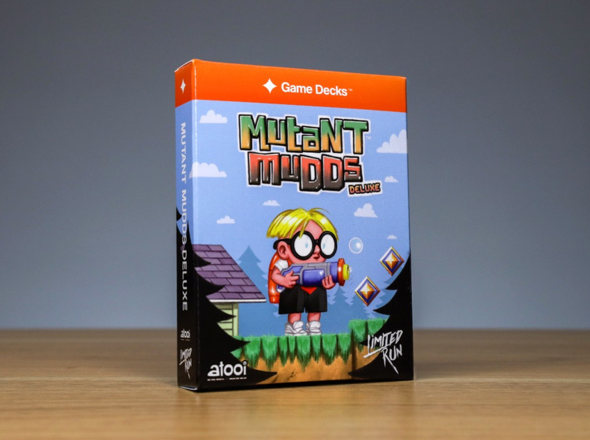 Mutant Mudds Deluxe Blue Edition