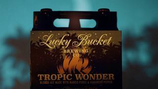Lucky Bucket - Tropic Wonder beer ad