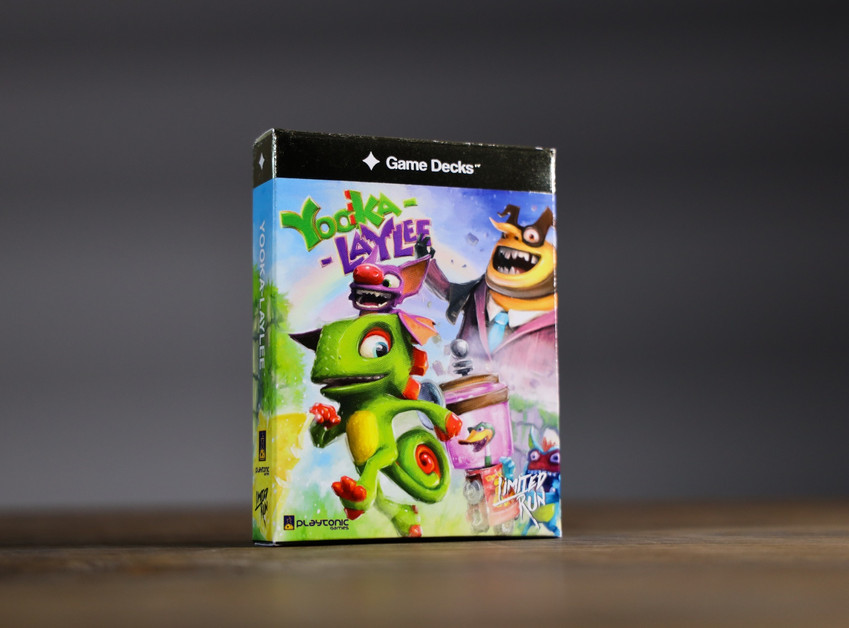 Yooka-Laylee Gold Box Cover