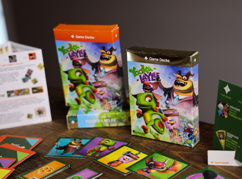 Yooka-Laylee Standard and Gold Editions
