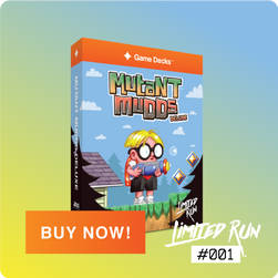 #001 Mutant Mudds Deluxe Blue Edition