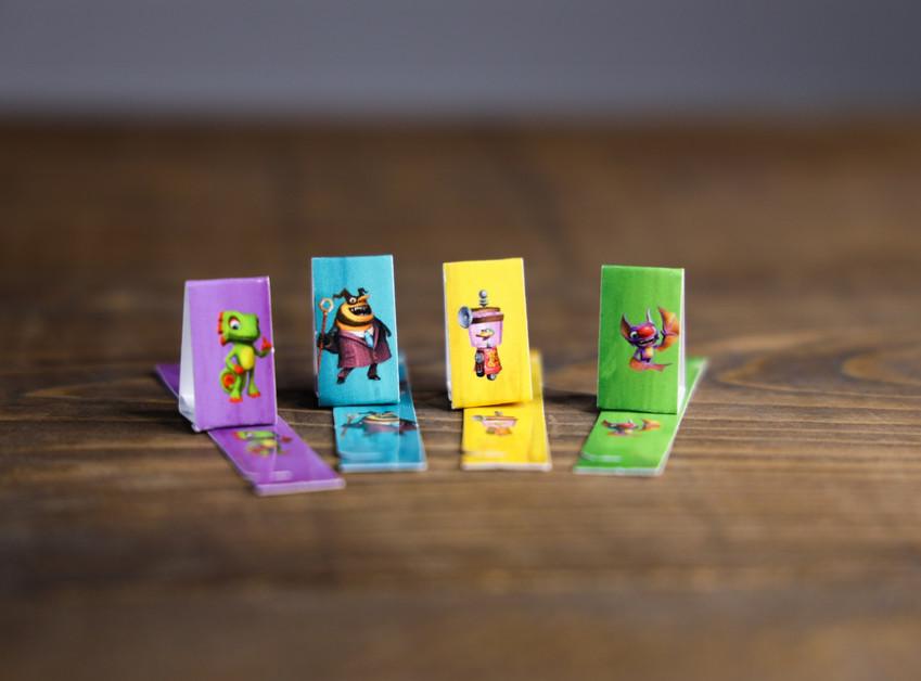 Yooka-Laylee standard player pieces