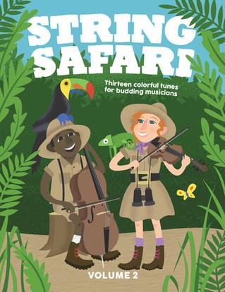 String Safari music book cover