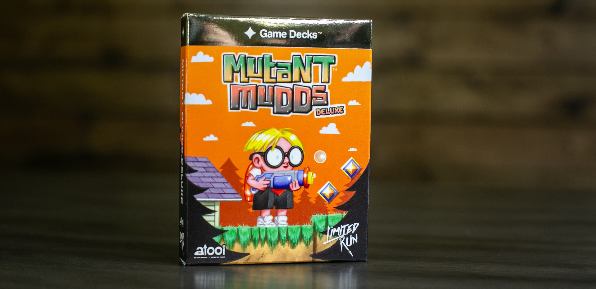 Mutant Mudds Deluxe Gold Box Cover