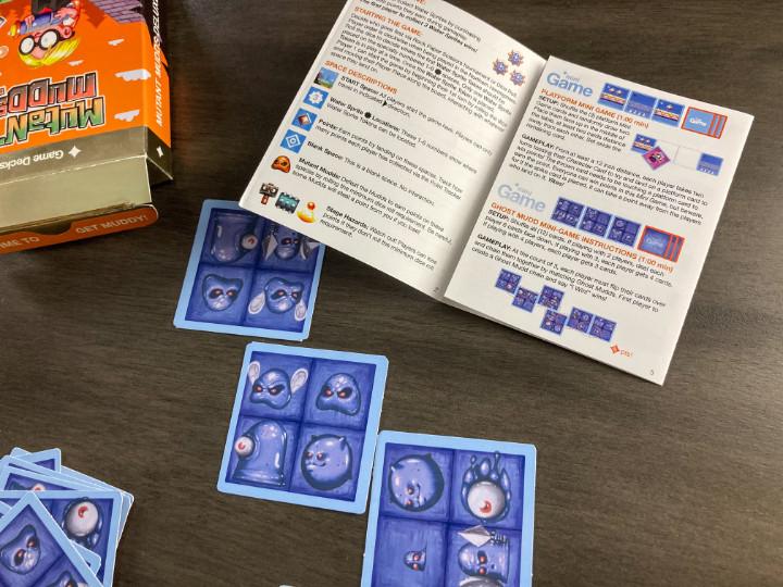 Ghost Mudd Match Mini Game