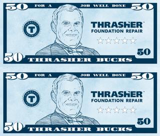 Thrasher Bucks award
