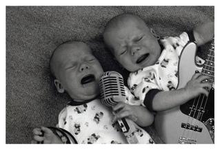Rocker Babies photoshop