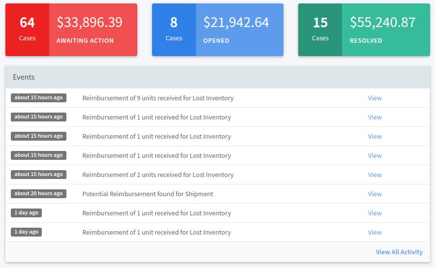 Seller Locker Reimbursement Manager Refunds Software