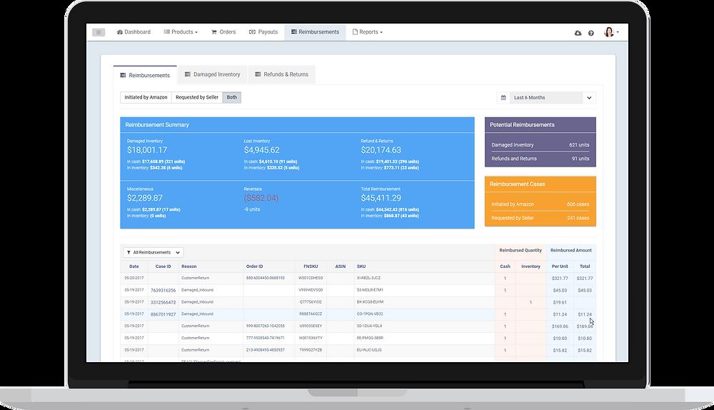 Leanseller Refunds Manager Reimbursement Software