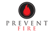 Logo for Prevent Fire, LLC. an Idaho based company providing fire equipment certifications, extinguishers, industrial fire suppression solutions, residential fire inspections and other fire services in Idaho.