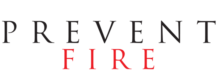 Logo for Prevent Fire, a commercial fire system design company providing fire extinguisher services and fire suppresson system solutions.