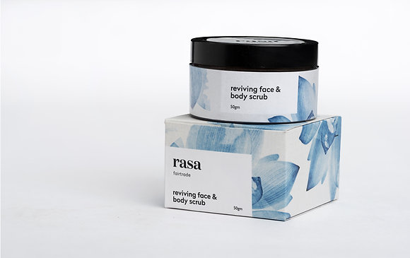 Reviving Face and Body Scrub 50 Gms
