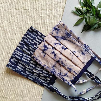 Batik Pleated Mask