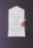 All in one wedding invitations