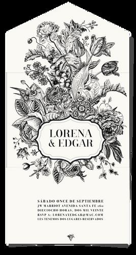LORENA-01 INVITACIONES DE BODA MEXICO _