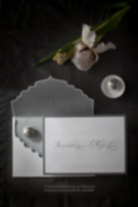 HYPER LUXURIOUS WEDDING INVITATIONS BY TIYPO LETTERPESS