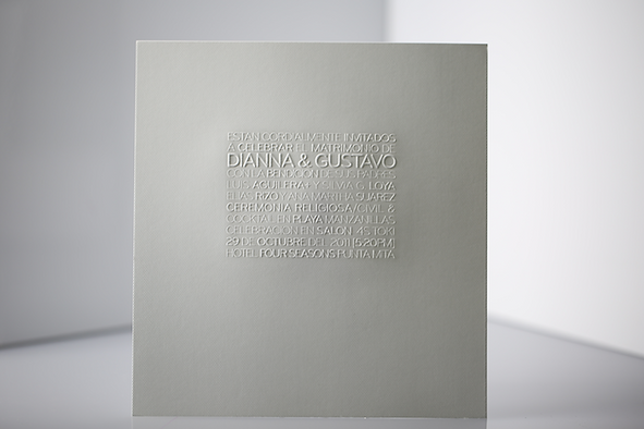 minimal minimalistic wedding invitations by tiypo