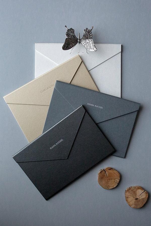 super luxurios wedding invitations