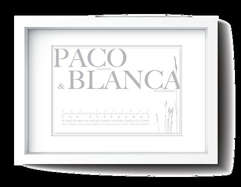 BLANCA (100sets de 5pzs.)