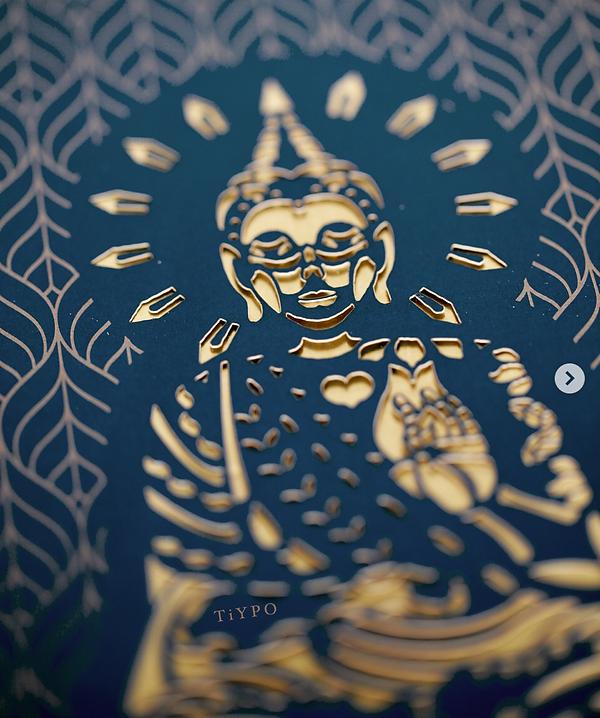 buda buddha corte laser mexico invitacione xv