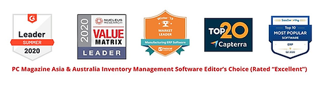SYSPRO ERP Software awards