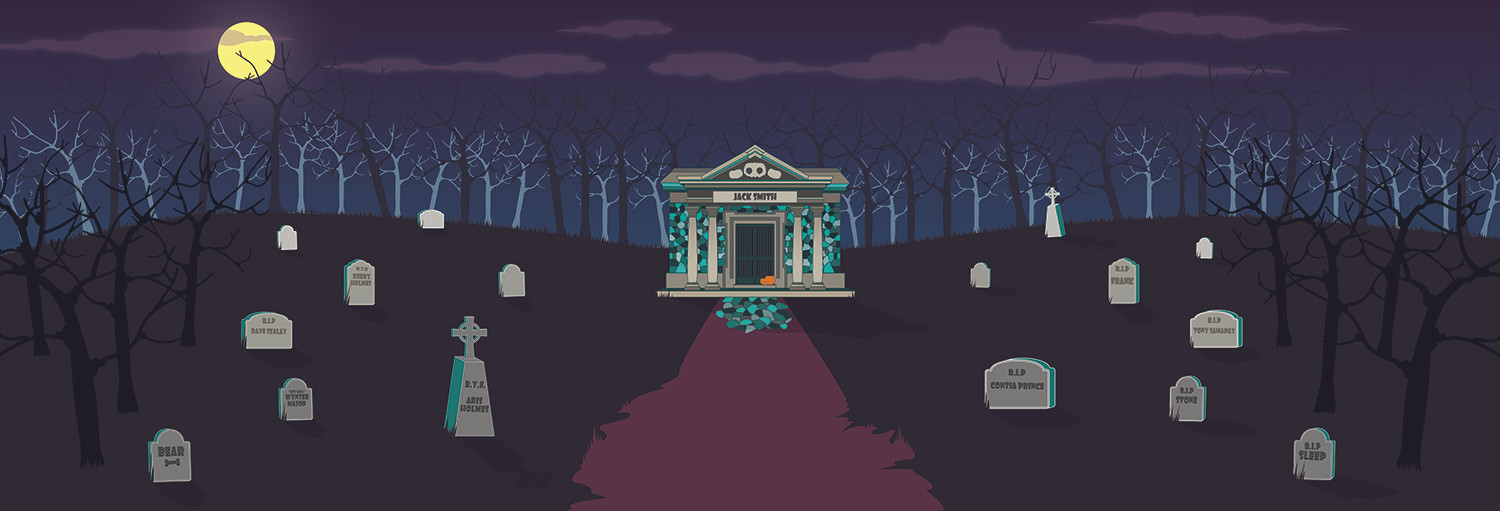 Cemetary Set Front