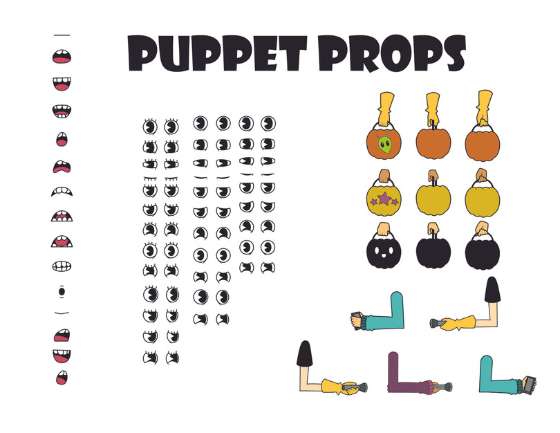 Puppets and Props